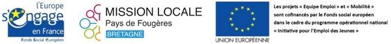 Logo Mission Locale du Pays deFougères